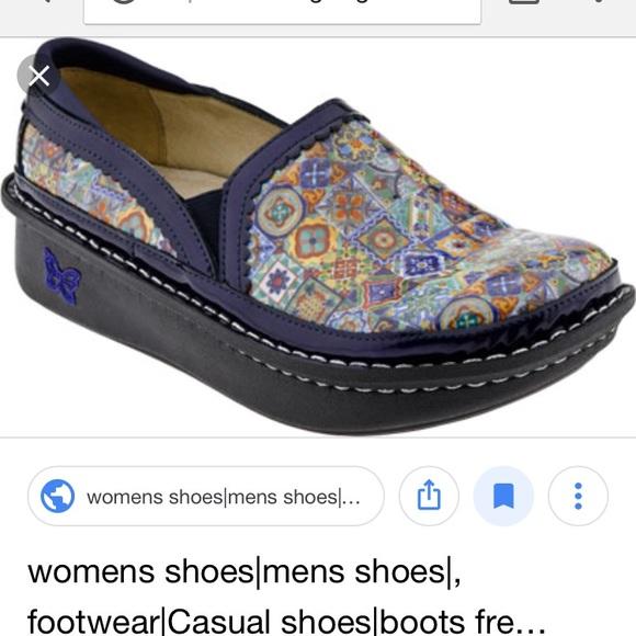 3d566e33103a78 Alegria Shoes - Alegria Aztec Tile Debra Size 40